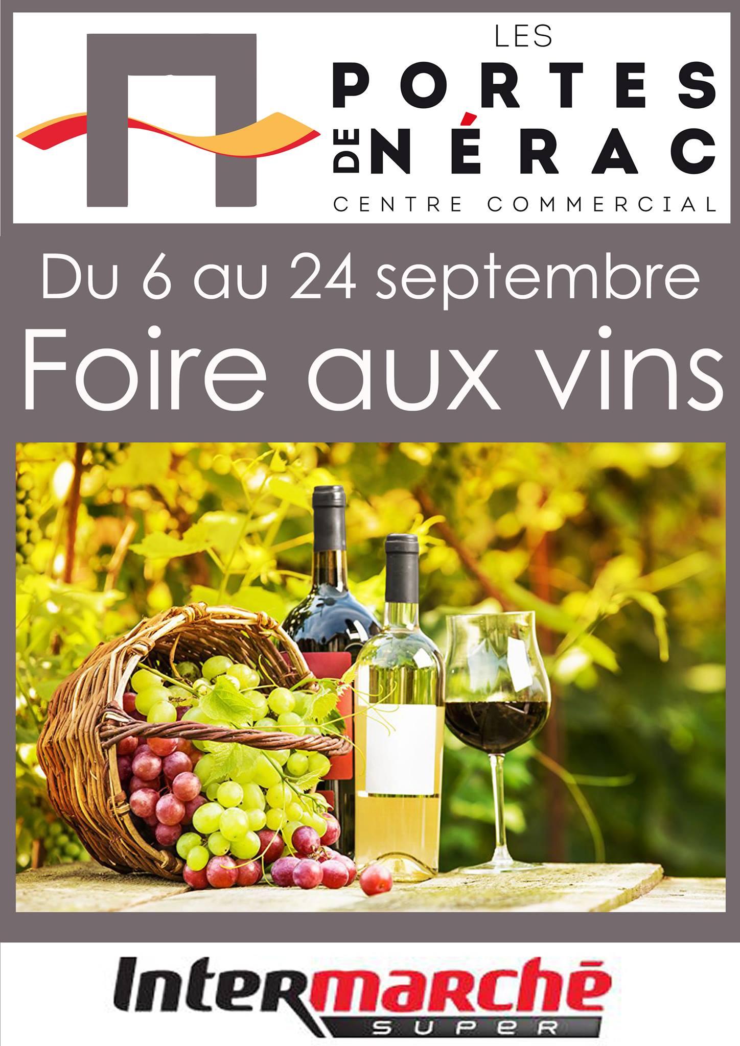 Affiche Foire aux vins