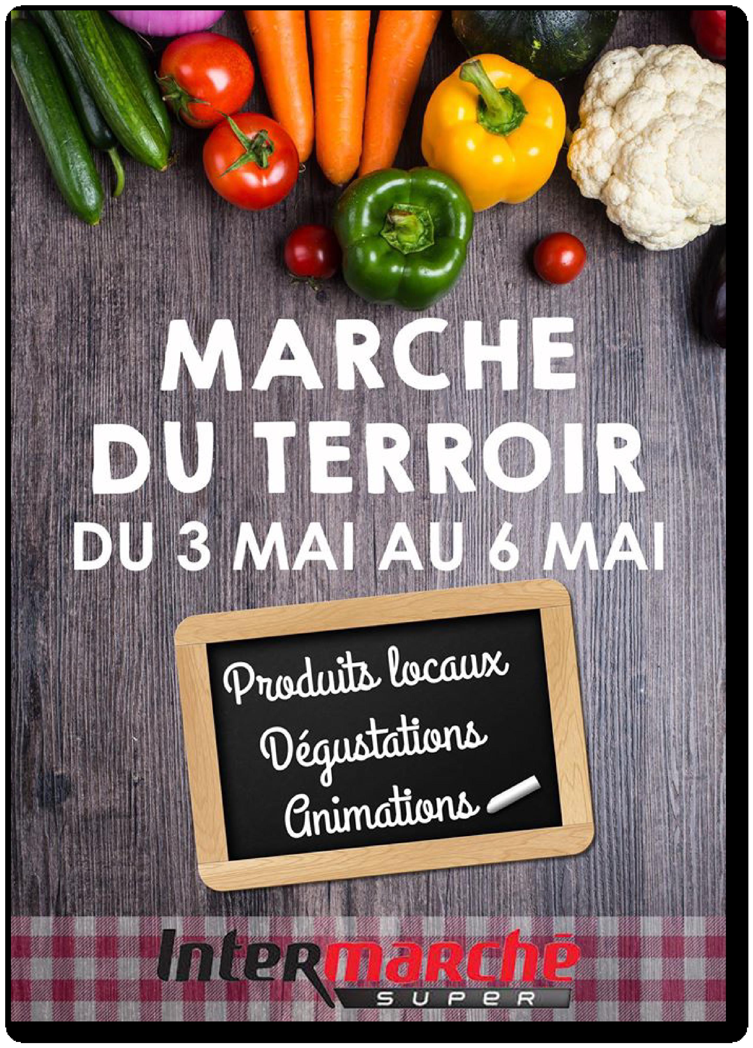 Affiche Marché du Terroir