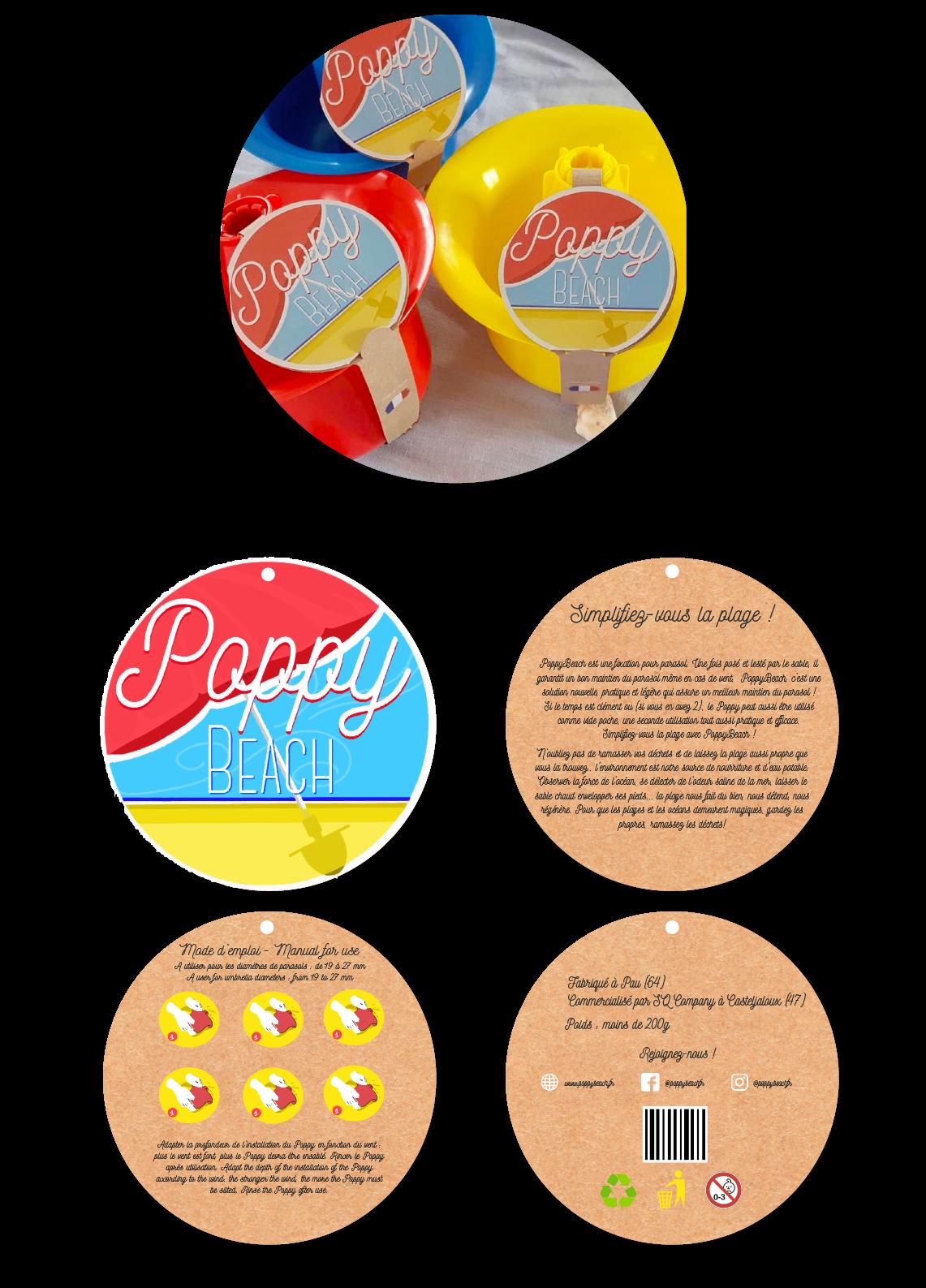 Packaging PoppyBeach