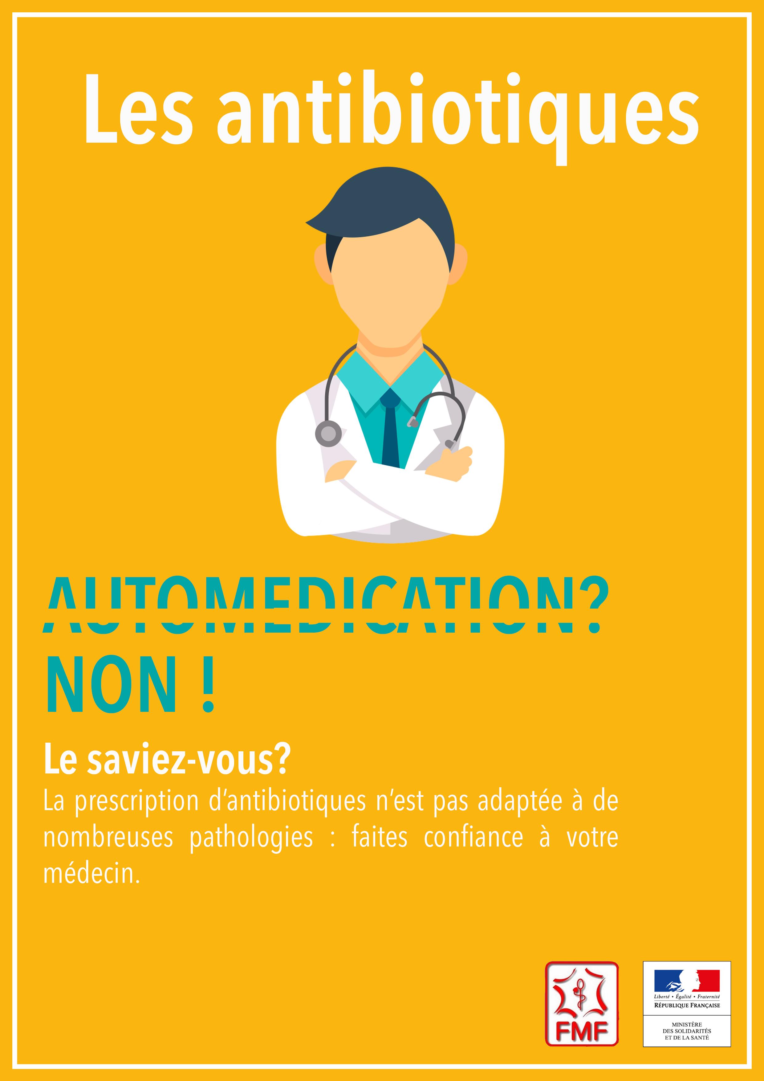 Affiche Campagne Antibiotiques