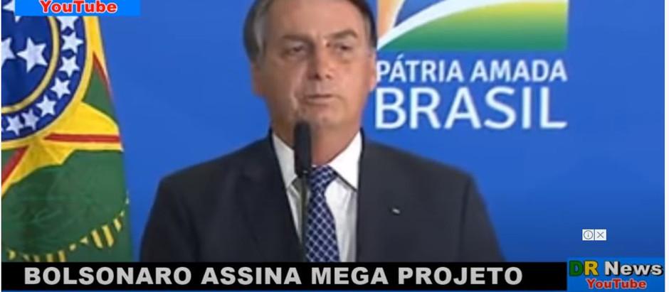 BOLSONARO ASSINA MEDIDA 0USADA NUNCA VISTA ANTES NESSE PAÍS E 0 P0V0 DE BEM AGRADECE MUIT0...