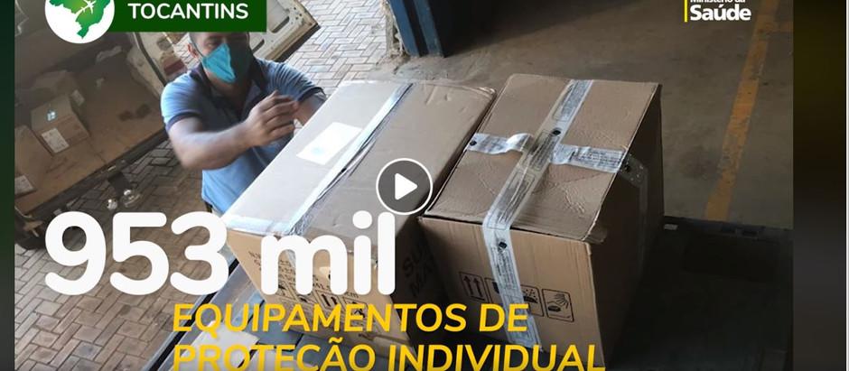 Mato Grosso do Sul, Maranhão e Tocantins receberam reforço de equipamentos e insumos médicos