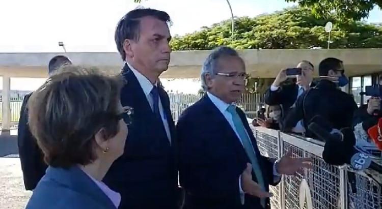 """""""Continuamos em alerta e trabalhando para que o Brasil volte para o caminho da prosperidade"""""""