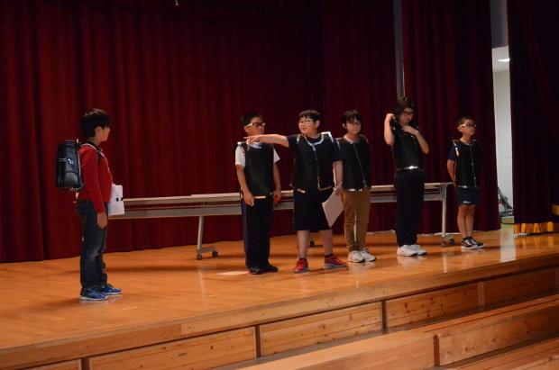 知小2018-学芸会直前の練習風景 4年生