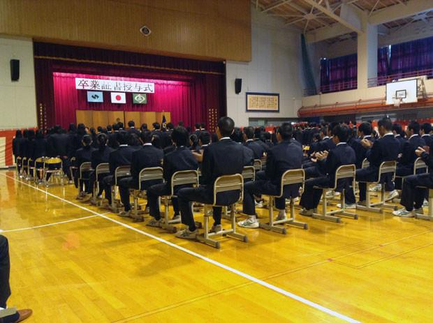 知小2019-高校の卒業式に行ってきました。