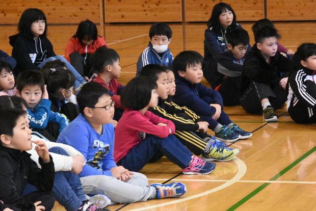 知小2019-全校朝会での教頭先生のお話