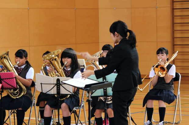 知小2018-素晴らしい演奏を披露するブラバン部