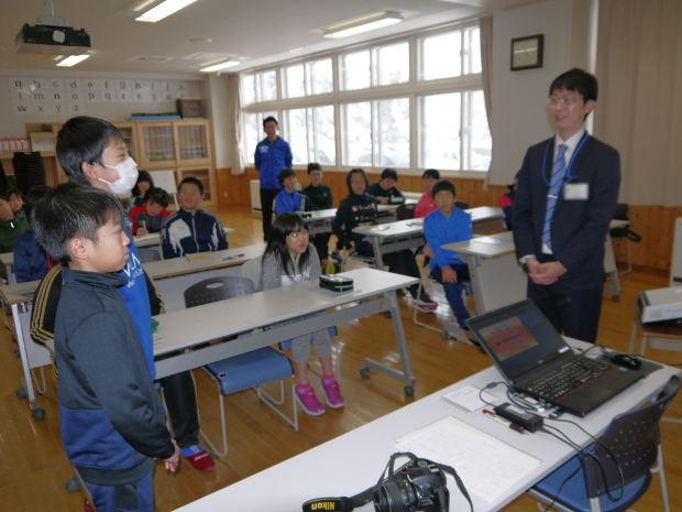 知小2018-役場職員による6年生の租税教室