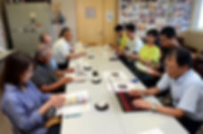 学校運営協議会の会議の様子