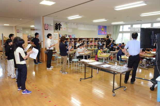 知小2018-町の算数サークル授業研を本校5年生で