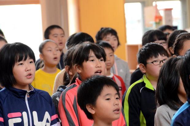 知小2018-10周年式典の最終練習