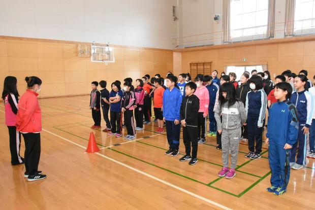知小2019-5.6年生合同のお楽しみ会