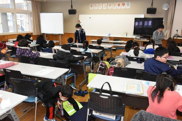知小2019-低学年放課後学習会