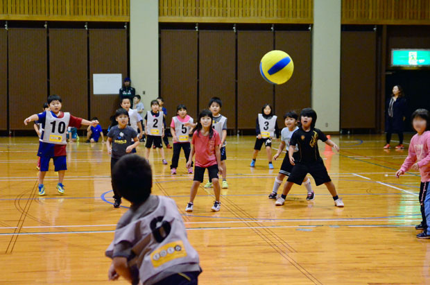 知小2018-町子ども会対抗ドッヂ大会低学年の部