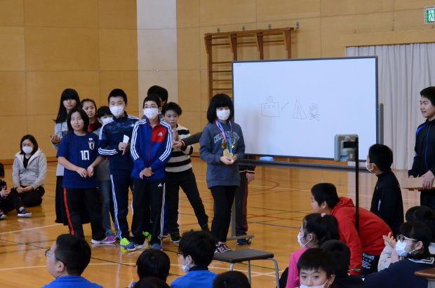 知小2019-6年生を送る会 5年生の出し物