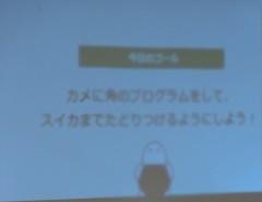 プログラム学習をオンラインで行いました。