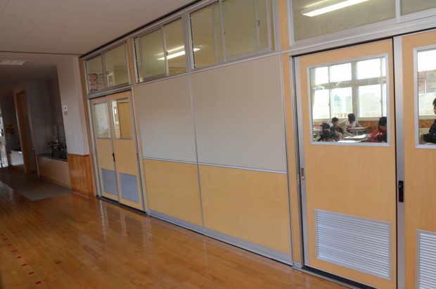 知小2018-壁を閉めた教室