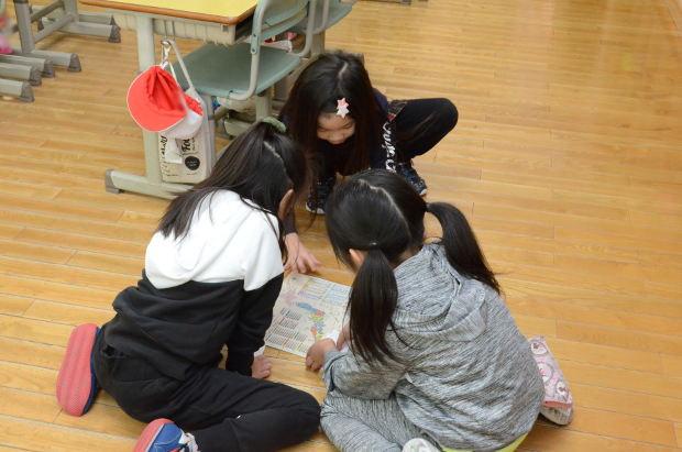 知小2018-1年生2学期お楽しみ会準備