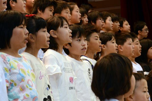 知小2018-学芸会 全校合唱