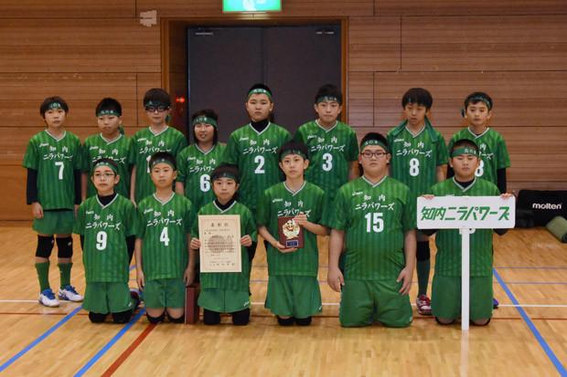 知小2019-ドッヂ地区予選優勝