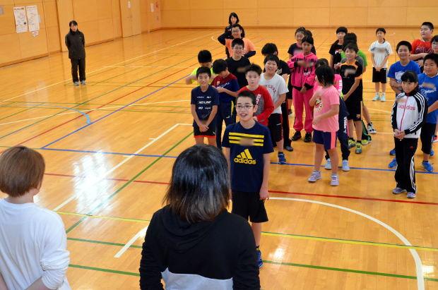 知小2018-教育大学生の指導による5年生のダンス教室