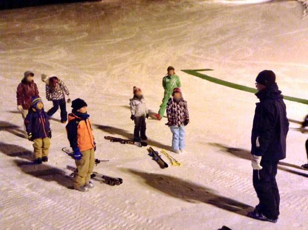 知小2019-町スキー教室1日目