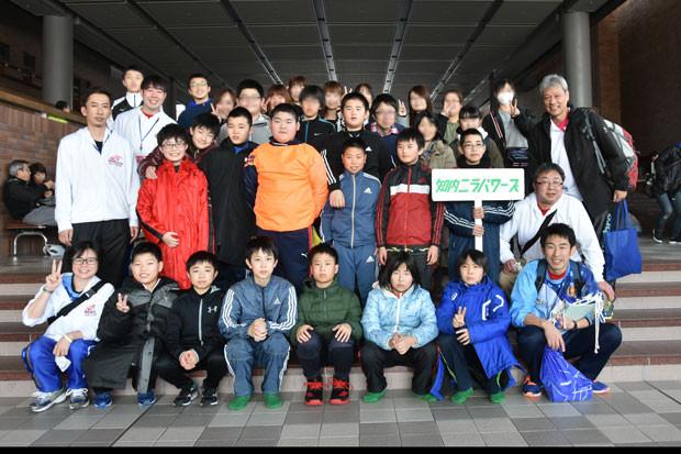 知小2019-ドッヂ全道大会 全員で記念写真