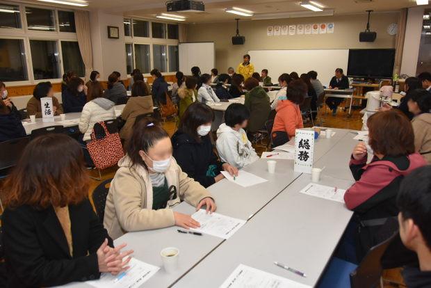 知小2019-たくさんの参加でPTA役員会終わる