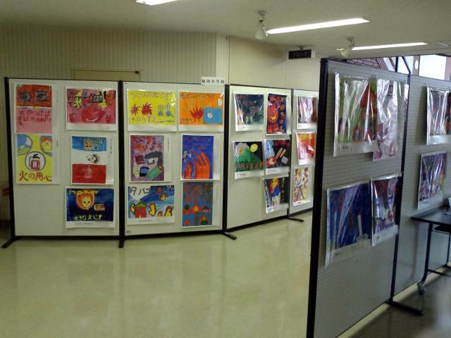 知小2018-作品の展示の様子