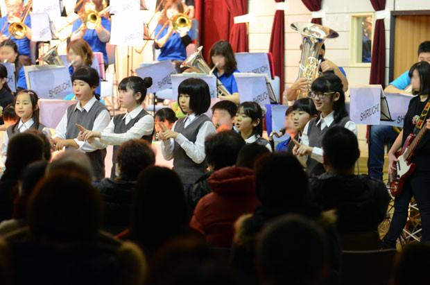 知小2019-ホワイトコンサートで6年生引退