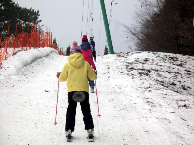 知小2019-高学年最後のスキー授業