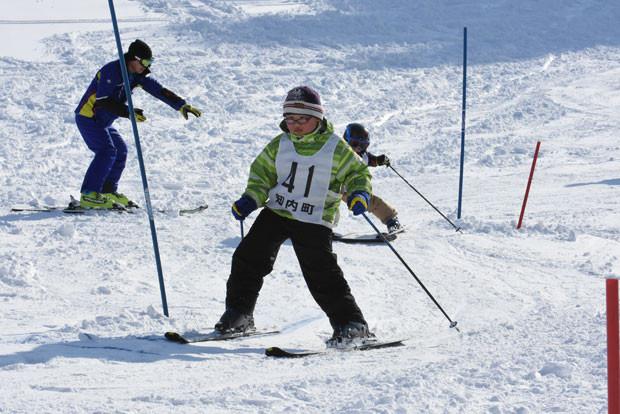 知小2019-ジュニアスキーバッジテスト