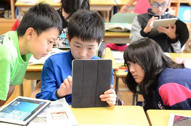 知小2018-iPadフル活用で授業をする6年生