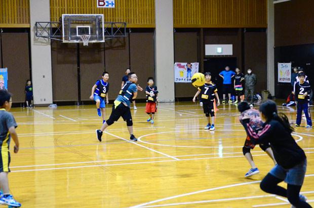 知小2018-町子ども会対抗ドッヂ大会高学年の部
