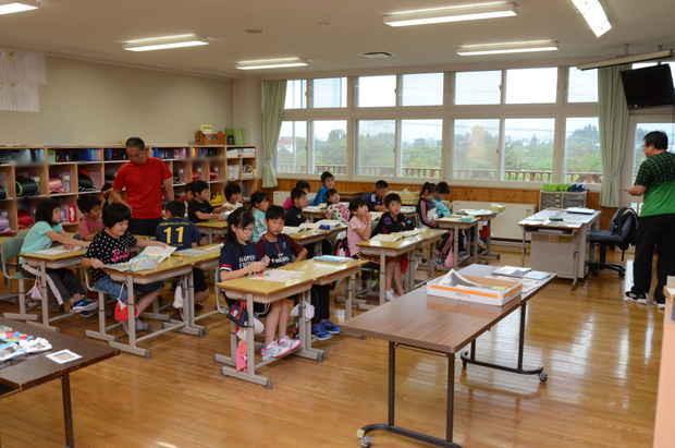 知小2018-臨休後の授業再開