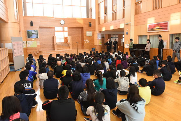 知小2019-緑化表彰の様子