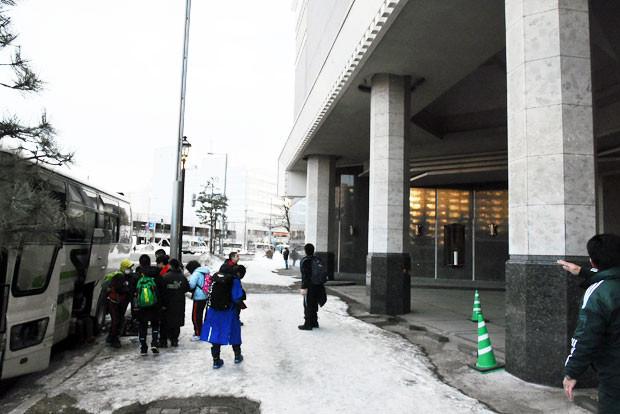 知小2019-ドッヂボール全道大会 新札幌のきれいなホテルに到着