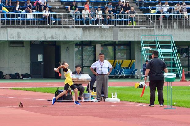 知小2018-優勝した4年生のジャベリックボール投げ