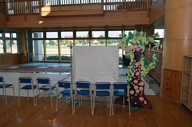知小2018-学芸会の大道具