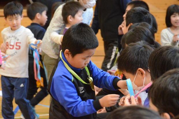 知小2019-6年生を送る会 1年生の出し物