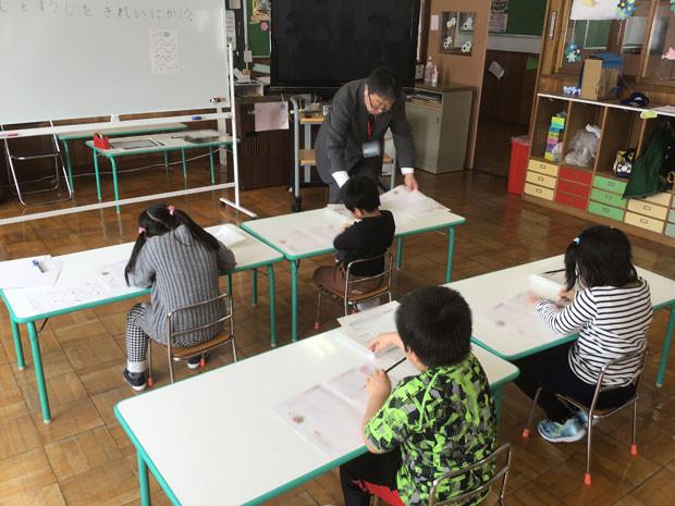 知小2019-本校の先生、幼稚園に出前授業