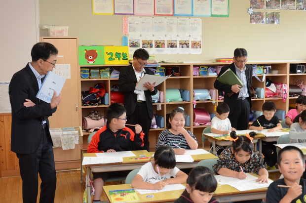 知小2018-局長学校訪問