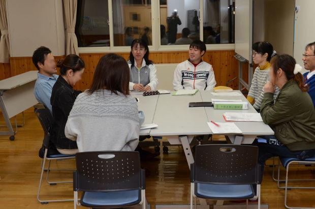 知小2018-10周年記念式典式典部の会議