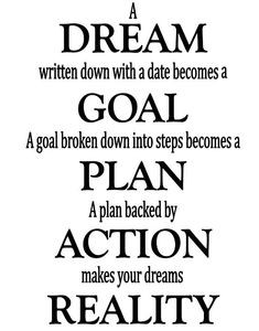 Life Lesson: Goal Setting