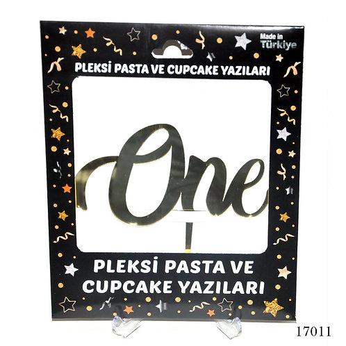 One Gold Pleksi Pasta Yazıları