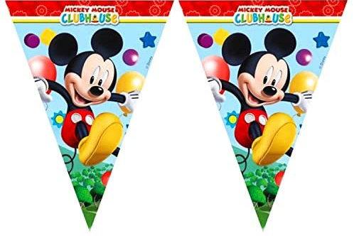Mickey Mouse Üçgen Flama