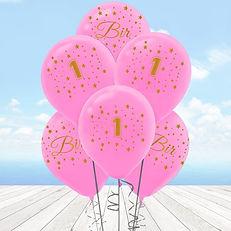 1-yas-altin-baskili-balon-10-adet-pembe-