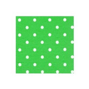 Yeşil Puantiyeli Peçete