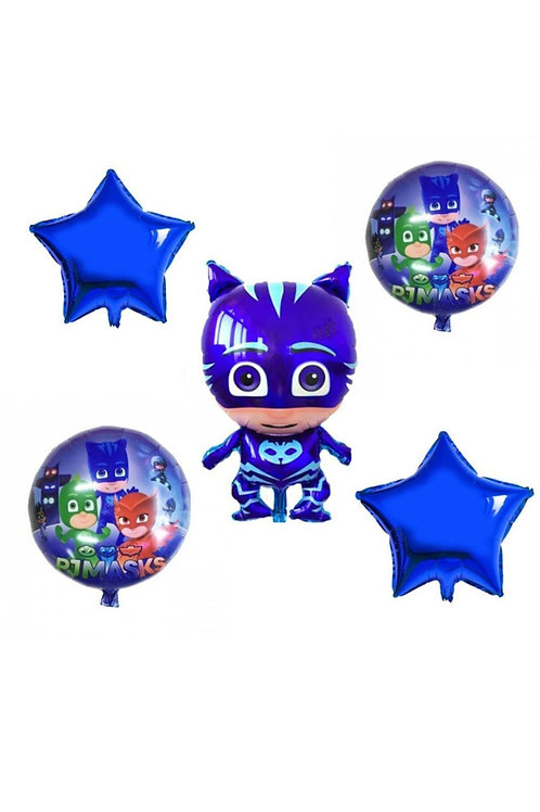 Pj Masks Kedi Çocuk Folyo Balon Set