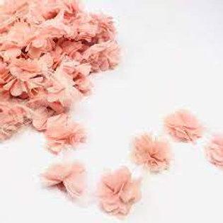Çiçek Tül Lazer Kesim Somon
